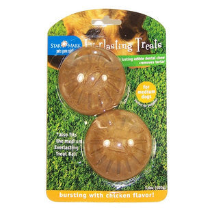 LARGE EVERLASTING TREAT BALL REFILL CHEWS - BD Luxe Dogs & Supplies - 1