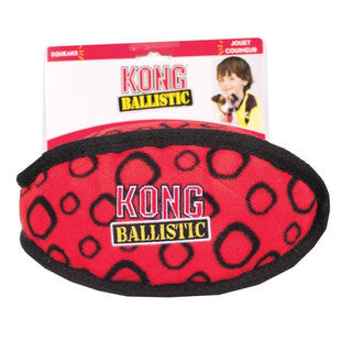 KONG BALLISTIC MEDIUM ASSORTED FOOTBALL DOG TOY - BD Luxe Dogs & Supplies - 1