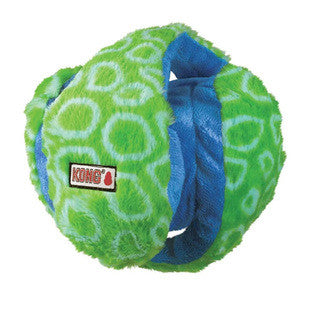 GREEN AND BLUE MEDIUM KONG FUNZLER DOG TOY - BD Luxe Dogs & Supplies - 1