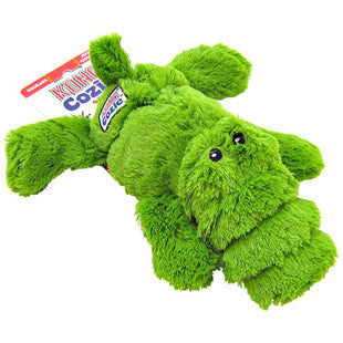 KONG COZIE ALI THE GREEN GATOR DOG TOY - BD Luxe Dogs & Supplies