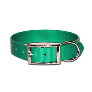 GREEN SUNGLOW WATERPROOF DOG COLLAR - BD Luxe Dogs & Supplies