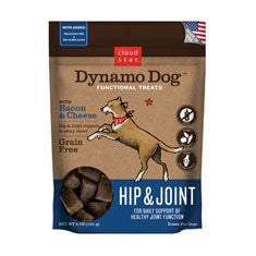 CLOUD STAR DYNAMO DOG BACON & CHEESE HIP & JOINT TREATS - BD Luxe Dogs & Supplies - 1