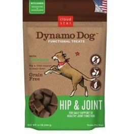 CLOUD STAR DYNAMO DOG CHICKEN HIP & JOINT TREATS - BD Luxe Dogs & Supplies - 1