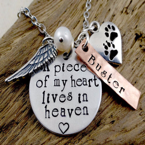 Dog Cat Pet Memorial Memento Jewelry - BD Luxe Dogs & Supplies