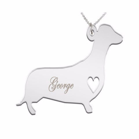 Dachshund Necklace - BD Luxe Dogs & Supplies - 1
