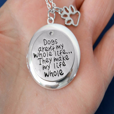 Dog Lover Locket Necklace - BD Luxe Dogs & Supplies - 1