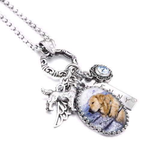 Custom Dog Necklace - BD Luxe Dogs & Supplies - 1