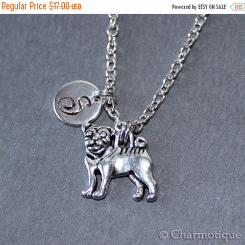 Dog charm necklace - BD Luxe Dogs & Supplies - 1