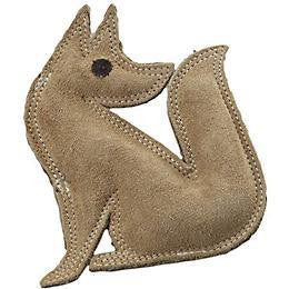 DURA FUSED FOX LEATHER DOG TOY - BD Luxe Dogs & Supplies - 1
