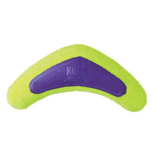 KONG AIR DOG LARGE BOOMERANG TENNIS DOG TOY - BD Luxe Dogs & Supplies