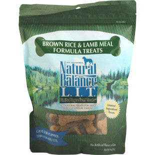 NATURAL BALANCE LAMB AND RICE DOG TREATS - BD Luxe Dogs & Supplies