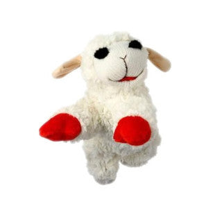 "5"" LAMB CHOP CLASSIC PLUSH DOG TOY - BD Luxe Dogs & Supplies"