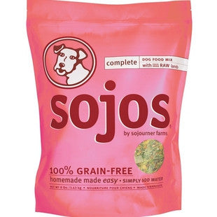 SOJOS COMPLETE LAMB DOG FOOD MIX 2LB - BD Luxe Dogs & Supplies