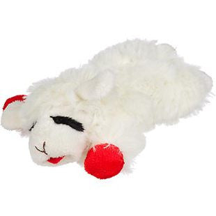 11 INCH MEDIUM LAMB CHOP CLASSIC PLUSH DOG TOY - BD Luxe Dogs & Supplies