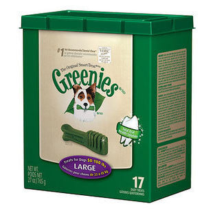 GREENIES 27OZ CANISTER DOG TREATS SIZE LARGE - BD Luxe Dogs & Supplies - 1