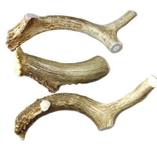 ALL NATURAL DEER ANTLER DOG CHEW LARGE 30-45LBS - BD Luxe Dogs & Supplies