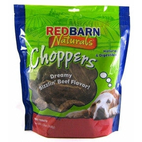 REDBARN CHOPPERS BEEF LUNG DOG TREATS 9OZ - BD Luxe Dogs & Supplies - 1