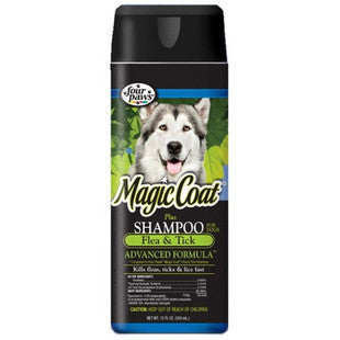 FOUR PAWS MAGIC COAT FLEA AND TICK SHAMPOO - BD Luxe Dogs & Supplies