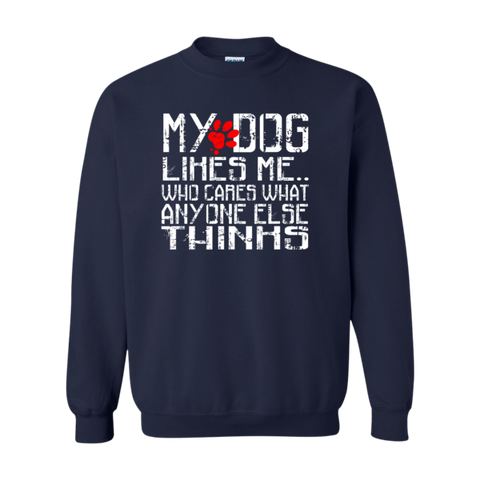 """MY DOG LIKES ME"" Sweatshirt - BD Luxe Dogs & Supplies - 1"
