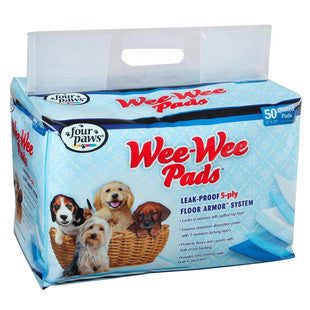 FOUR PAWS WEE WEE PADS 50PK BAG - BD Luxe Dogs & Supplies