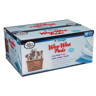 FOUR PAWS WEE WEE PADS X-LARGE 40PK BOX - BD Luxe Dogs & Supplies