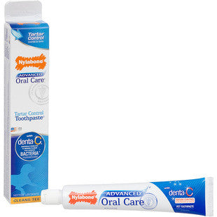 NYLABONE ADVANCED ORAL CARE TOOTHPASTE - BD Luxe Dogs & Supplies