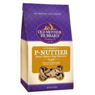 OLD MOTHER HUBBARD MINI P-NUTTIER DOG BISCUIT TREATS 5OZ - BD Luxe Dogs & Supplies