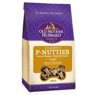 OLD MOTHER HUBBARD MINI P-NUTTIER DOG BISCUIT TREATS 20OZ - BD Luxe Dogs & Supplies