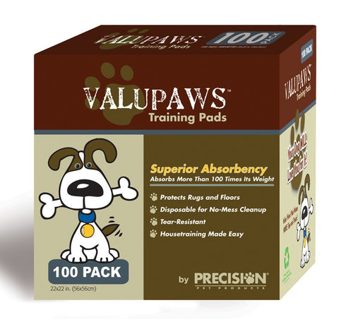PRECISION VALUPAWS HOUSEBREAKING PEE PADS - BD Luxe Dogs & Supplies