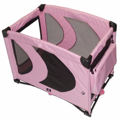 Home 'N Go Pet Pen in Pink Ice - BD Luxe Dogs & Supplies