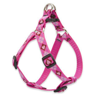 PUPPY LOVE LUPINE LIFETIME GUARANTEED STEP IN DOG HARNESS
