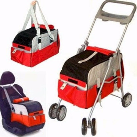 3 in 1 Pet Stroller - BD Luxe Dogs & Supplies
