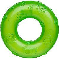 MEDIUM KONG SQUEEZZ GEL CHEW RING DOG TOY