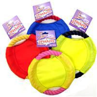 6 INCH CANVAS AND ROPE RING FRISBEE SMALL BREED DOG TOY - BD Luxe Dogs & Supplies