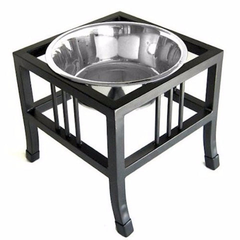 Baron Heavy Duty Raised Dog Bowl - Small - BD Luxe Dogs & Supplies