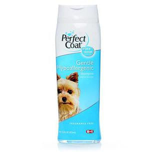 8IN1 PERFECT COAT GENTLE HYPOALLERGENIC SHAMPOO - BD Luxe Dogs & Supplies