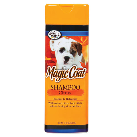 FOUR PAWS MAGIC COAT ORGANIC CITRUS SHAMPOO 16OZ - BD Luxe Dogs & Supplies