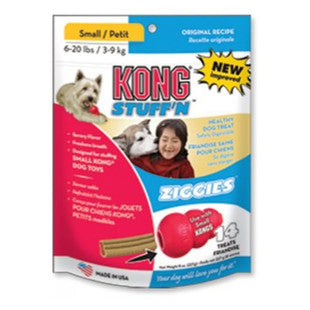 KONG STUFF N ZIGGIES DOG TREATS