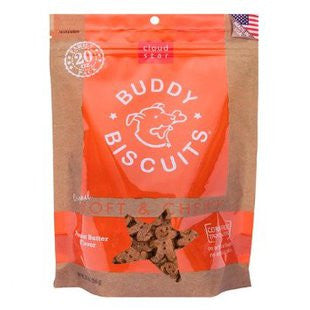 CLOUD STAR ORIGINAL SOFT AND CHEWY BUDDY BISCUIT 20-OUNCE PEANUT BUTTER - BD Luxe Dogs & Supplies