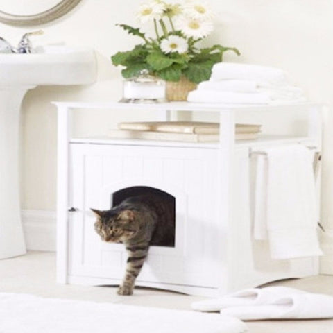 Cat Washroom and Night Stand - BD Luxe Dogs & Supplies