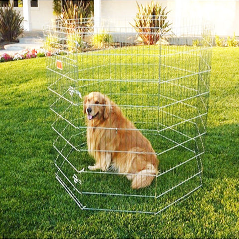 Dog Exercise Pen - Medium - BD Luxe Dogs & Supplies