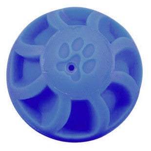 5.5 INCH BLUE SWIRL BALL DOG TOY - BD Luxe Dogs & Supplies