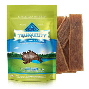 BLUE BUFFALO TRANQUILITY CHICKEN JERKY TREATS 3.25OZ - BD Luxe Dogs & Supplies