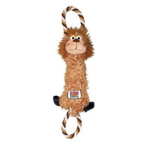 KONG BROWN LION TUGGER KNOT DOG TOY - BD Luxe Dogs & Supplies