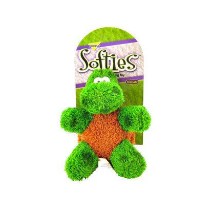 "BOODA SOFTIES TOBY TURTLE 6"" PLUSH TOY - BD Luxe Dogs & Supplies - 1"