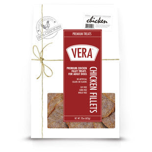 ALL NATURAL VERA CHICKEN FILET JERKY - BD Luxe Dogs & Supplies