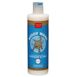 CLOUD STAR ROSEMARY AND MINT BUDDY WASH DOG SHAMPOO - BD Luxe Dogs & Supplies