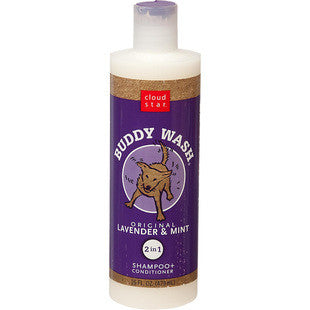 CLOUD STAR LAVENDER AND MINT BUDDY WASH DOG SHAMPOO - BD Luxe Dogs & Supplies