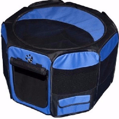 Travel Lite Soft-Sided Pet Pen - Medium - BD Luxe Dogs & Supplies