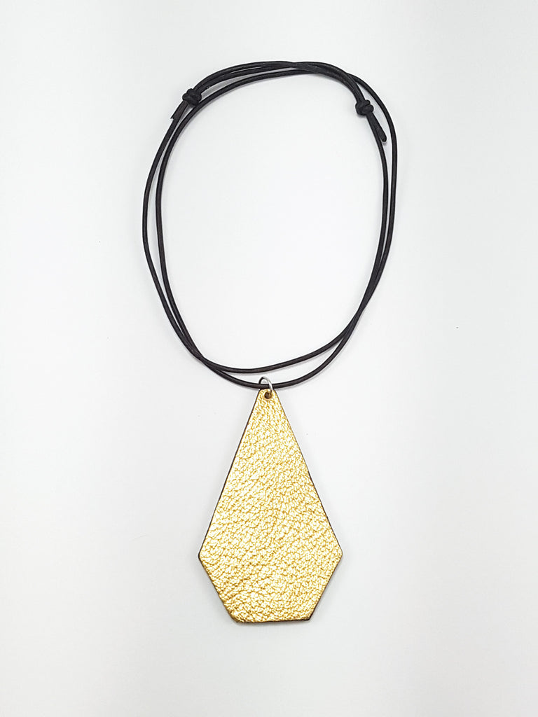 Gold Geometric Pendant
